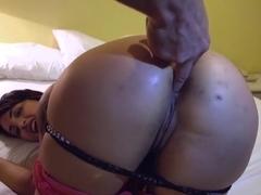 Crazy pornstar Hunter Paige in hottest facial, anal sex clip