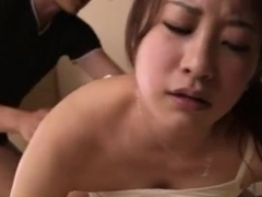 Asami Nanase naughty Asian milf is horny housewife