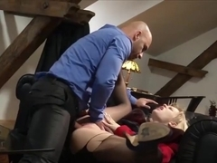 Crazy pornstars in Incredible Threesomes, Mature xxx clip