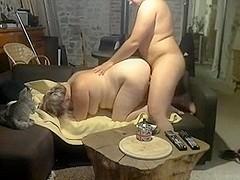 Fat amateur home video