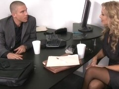 Julia Ann & Mick Blue in Naughty Office