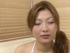 Shiho Kanou feels amazing with toys down her vag