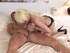 Sandra Star is pounded after giving titjob