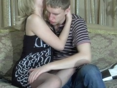 PantyhoseTales Movie: Jaclyn A and Connor A