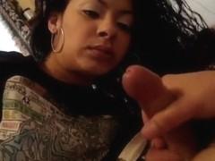 Wife's soft lips make me cum hard