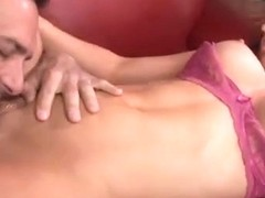 Slut With Huge Fake Tits Swallows