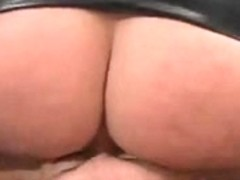 Sub licks Mistresses ass