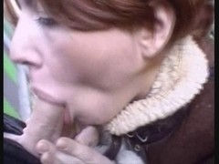 SEXY HOTTY 11 brunette hair and redhead in party sex