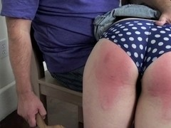 Non-Professional buxom chick acquires hard paddling.