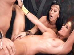 Dungeons & Milfs with Lezley Zen, Sofie Marie and Seth Gamble