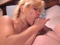 Hawt mother i'd like to fuck chick gives head and receives screwed in sofa