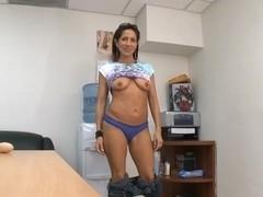 Pierced pussy getting tamed