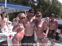 whipped cream body shots party home video