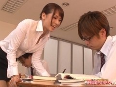 Yui Ooba naughty Asian teacher is a kinky chick