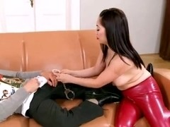 Oriental mother i'd like to fuck footjob