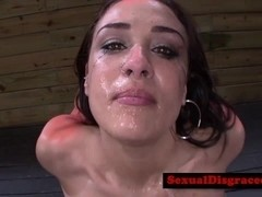 Bondage bdsm fetish sub fucked in mouth