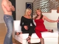 Cfnm Milf Ivana Sugar Doggystyling In Group