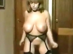 Debbie Jordan striptease