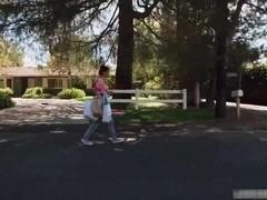 Julia Ann makes her stepson fuck the latina maid