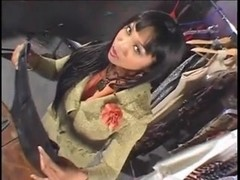 Asian Slut Shoe Fetish And Facial