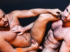 Billy Santoro & Tony Orion in Backroom Tease Video