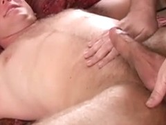 Straight amateur hunk being spoiled