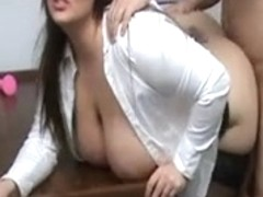 BBW teacher wants cock after class