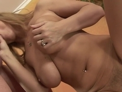 Horny pornstar Devon Lee in best creampie, hairy sex clip