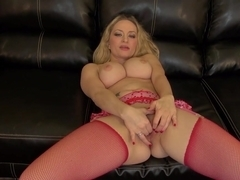 Best pornstar Aiden Starr in Exotic Blonde, Stockings porn scene