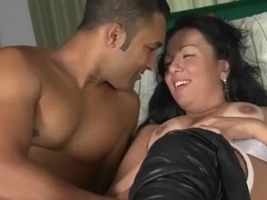 Loupan enjoy sin sex with busty hot brunette Palloma