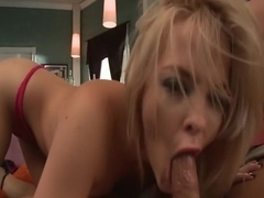 Fabulous pornstars Alexis Texas and Natalie Norton in crazy blonde, facial sex movie