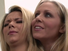 Fabulous pornstars Ashlynn Brooke and Julia Ann in exotic big tits, mature xxx scene