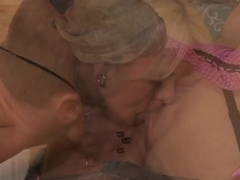 Cool whores practicing in sucking cocks and fucking