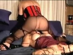 Exotic Amateur Shemale clip with  Big Tits,  Lingerie scenes