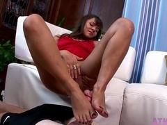 Horny pornstar in Incredible Latina, College sex movie