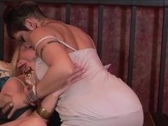 Incredible pornstars Brandy Aniston, Lily Lane in Best Lesbian, Dildos/Toys porn movie