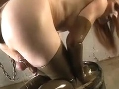 Best amateur shemale video with Solo, Masturbation scenes