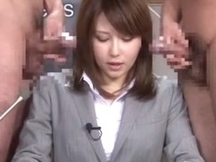 Exotic Japanese whore Nonoka Momose in Hottest Blowjob, Secretary JAV video