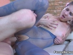 PantyhoseLine Video: Madeleine and Connor A