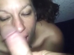 Giving head to my slutty spouse