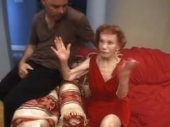Granny Gigi in Hey grandma is a whore 14 Scene 3