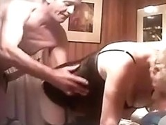 great non-professional homemade porn from an aged pair