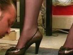 French female-dominant orders and disciplines her pet