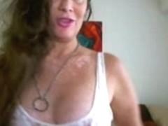 Delicious milf brunette webcam video