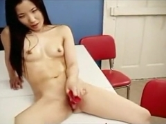 So Pretty Asian Brunette From South Corea Make A Hot Sex Fun With His Dude,Enjoy