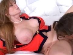 Darla Crane and Riley Reid hot threesome