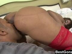 Fat Assed Latin Slut Gets Sodomized
