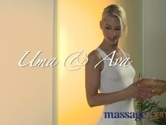 Massage Rooms Cute British beauty has her cum-hole stretched