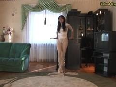 Elena Miksenko - Gymnastic Video part 1