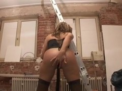 german anal wench vs 2 schlongs